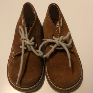 Other - Pablosky Beige boys suede boots
